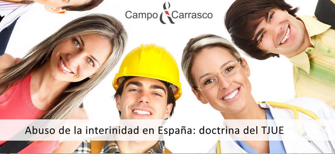 Abuso de la interinidad en España: doctrina del TJUE