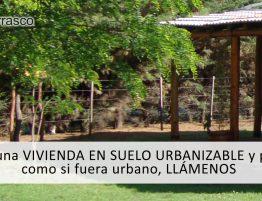 vivienda en suelo urbanizable