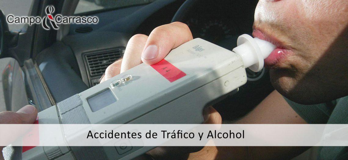 Accidentes de tráfico y alcohol