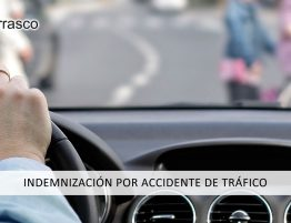 indemnización por accidente de trafico