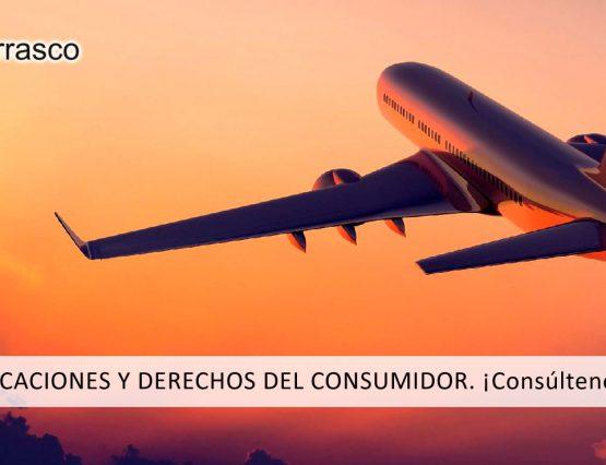 vacaciones y derechos del consumidor